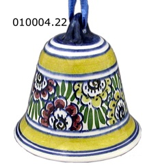 "DeWit Delft 2.5"" Bell Shaped Ornament (010004.22)"