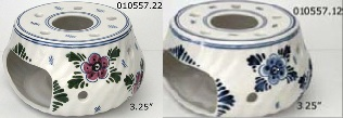 "DeWit Assorted 3.25"" Teapot Warmers (010557)"