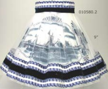 "DeWit Blue Mill 9"" Lamp Shade (010580.2)"