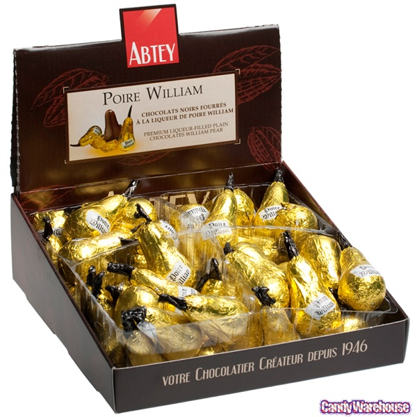Abtey Pear William single chocolate (ALCOHOL)