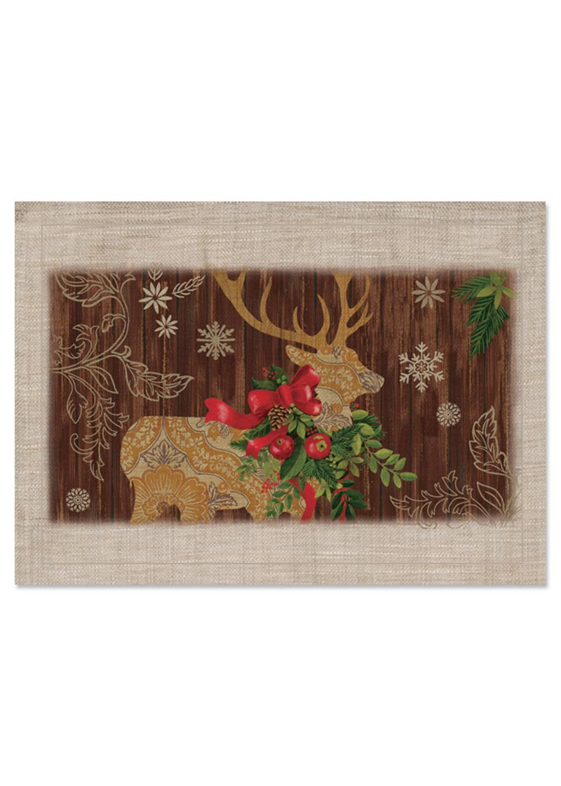 "Alpine Lodge Placemat (6 pack) 14"" x 20"""