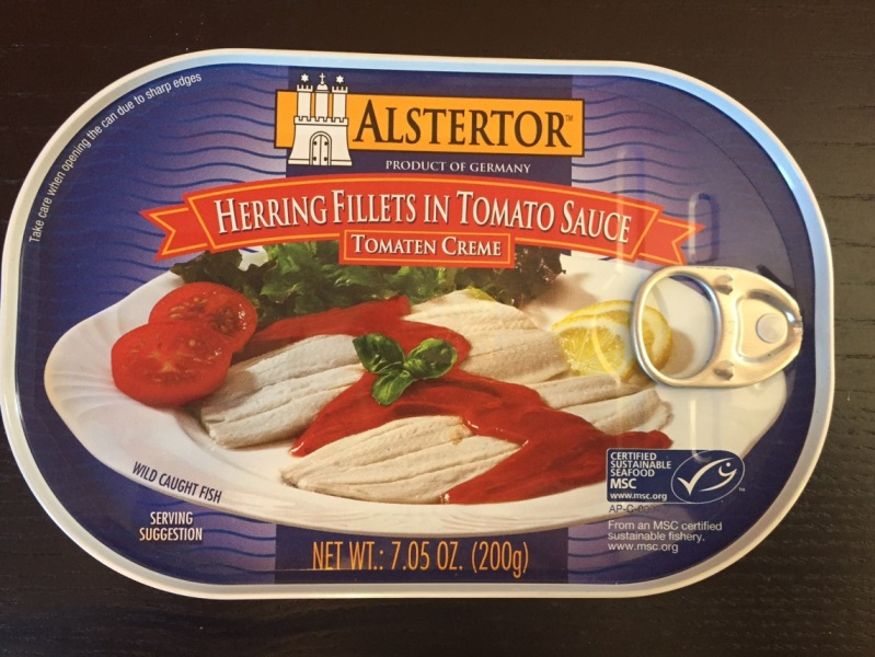 Alstertor Herring in Tomato Sauce (Canned Fish)