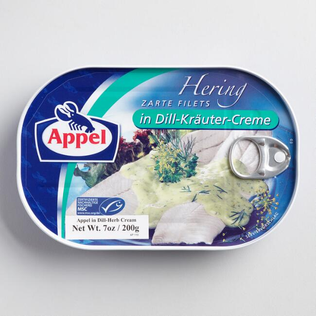 Appel Herring in Dill Herb Cream Sauce (Canned Fish)