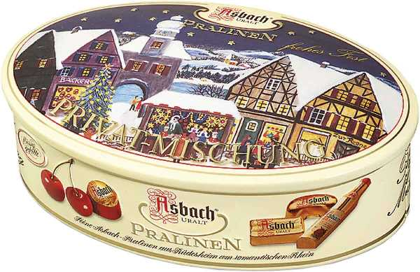 Asbach Asst Brandy Chocolates in tin (ALCOHOL) 21+ only (1 LEFT)