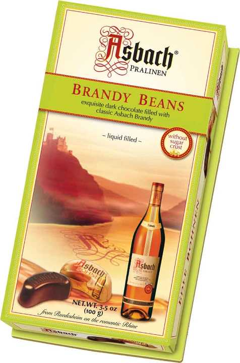 *Asbach Brandy Beans (ALCOHOL) 21+