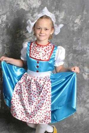 Dutch Girl Costume (ages 6-9)