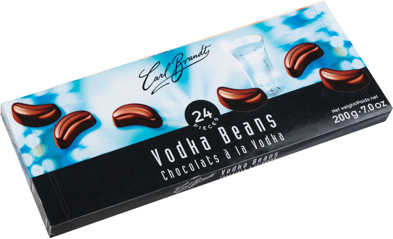 Carl Brandt Vodka Beans 7 oz (ALCOHOL) 21+ only