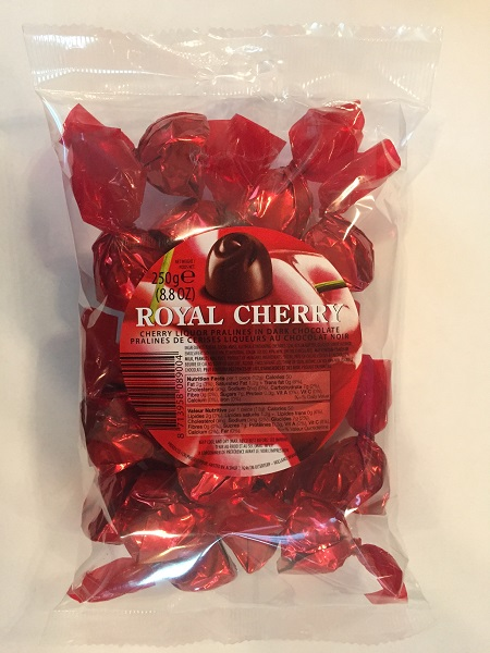 Royal Cherry (Liquor) Pralines in Dark Chocolate (ONLY 4 LEFT)