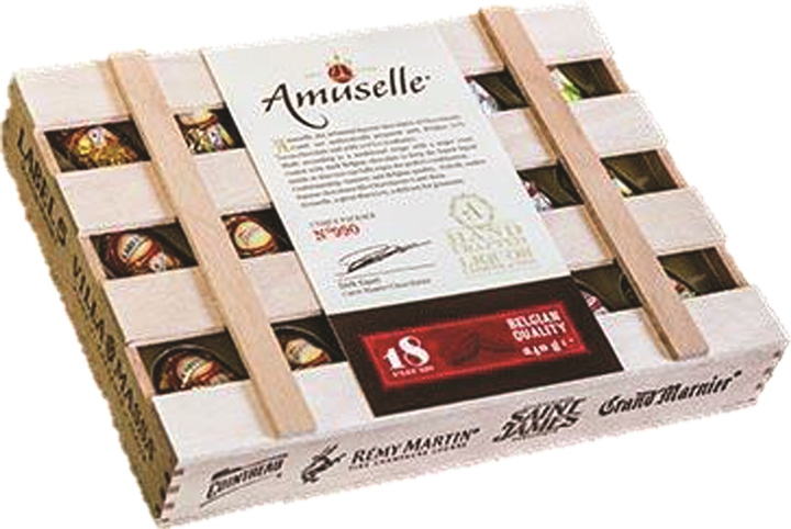 ChocOBeer Amuselle Liquor choc. (ALCOHOL) 21+only