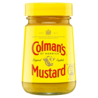 Colman's Original English mustard (ONLY 5 LEFT)