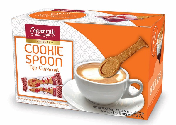 *Coppenrath Shortbread Cookie Spoons w Caramel NEW!! (3 LEFT)