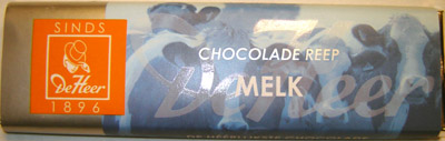 De Heer Milk Chocolate Bar
