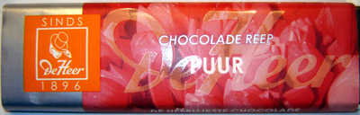 De Heer Dark Chocolate Bar
