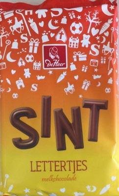 *De Heer Milk Chocolate Sint Mini Letters (PRE-ORDER)