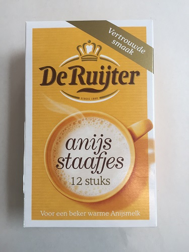 De Ruijter Anise Sticks (Anijsstaafjes) (BACK LATE NOVEMBER)