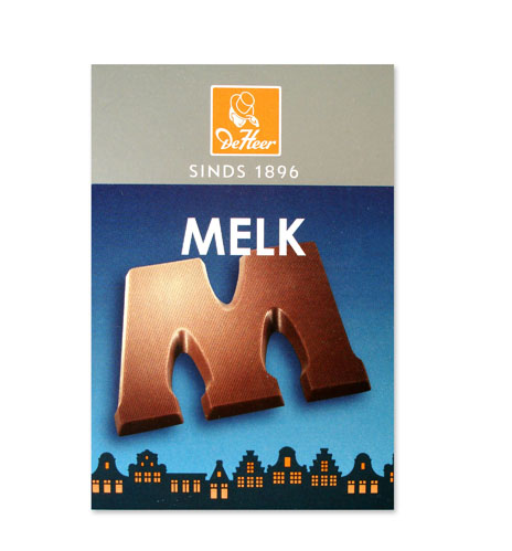 *De Heer Chocolate Letter (Milk/Melk)