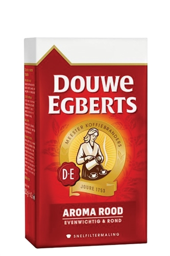 Douwe Egberts Aroma Rood Ground Coffee (red)