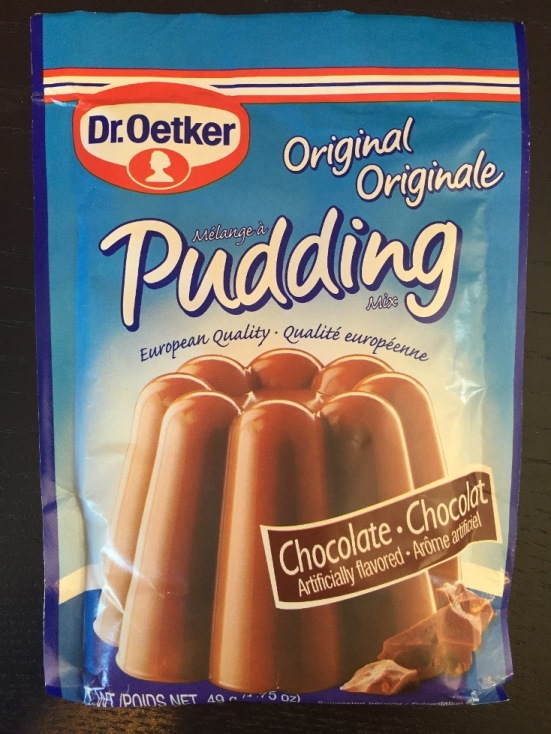 Dr. Oetker Chocolate Pudding (OUT OF STOCK)