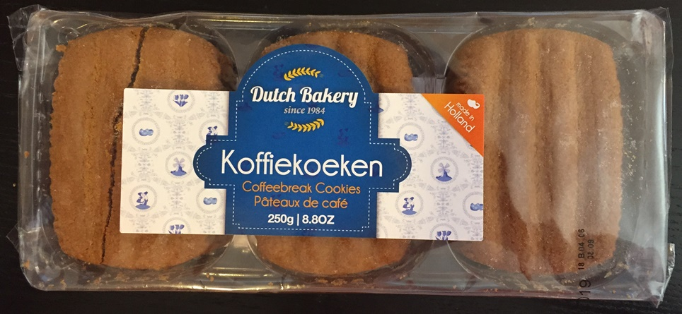 Dutch Bakery KoffieKoeken (coffee break cookies)