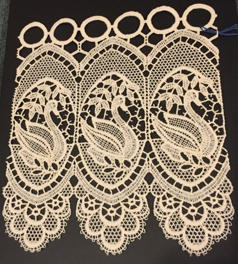 100 macrame lace curtains lorna cream voile lined curtains