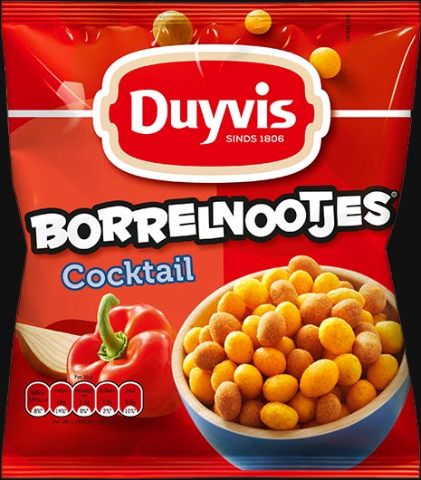 Duyvis Borrelnootjes (Borrelnoten) Cocktail