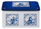 Delft Style Tin (EMPTY) for Spiced Cookies (speculaas)