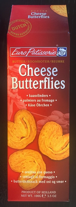 Euro Patisserie Cheese Butterflies /Kaas Vlinders (OUT OF STOCK)