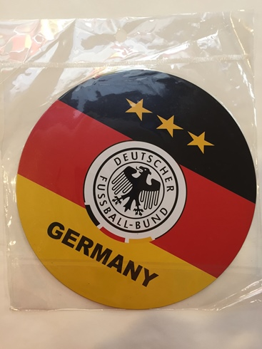 German Soccer Car Magnet (ONLY 1 LEFT)