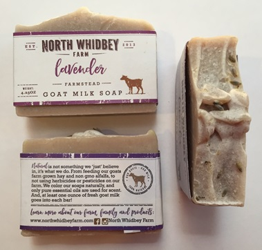 NorthWhidbey Farm Goat Soap - Lavender