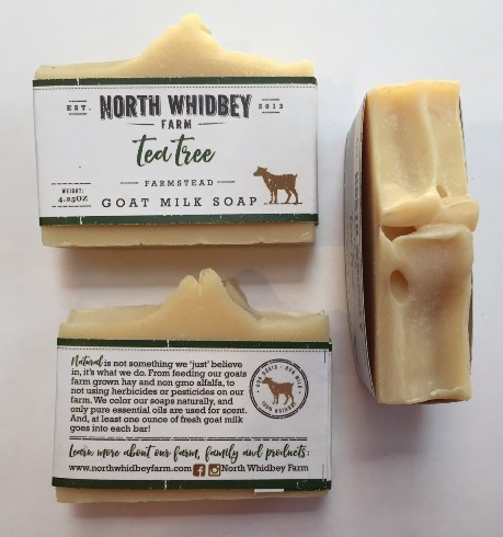 NorthWhidbey Farm Goat Soap - Tea Tree