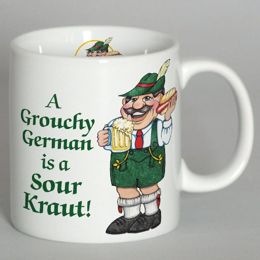 Z- A Grouchy German Mug