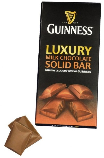 *Guinness Milk Chocolate Bar (ALCOHOL) (SELL-BY DECEMBER 2018)