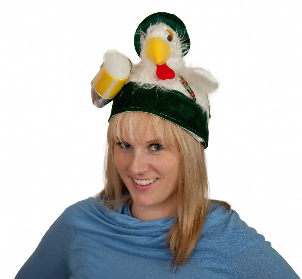 Chicken in Lederhosen Oktoberfest Hat (ONLY 1 LEFT)