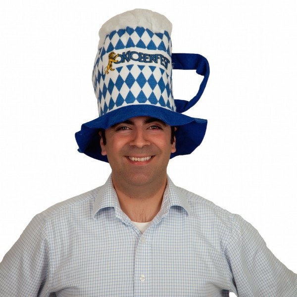Oktoberfest Beer Stein Shaped Party Hat (ONLY 3 LEFT)