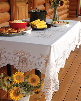 Heirloom Rectangle Tablecloths