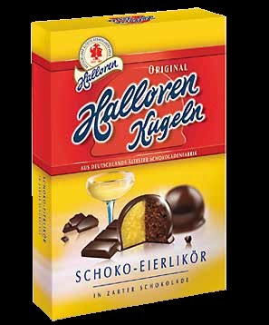 *Halloren Egg Liqueur And Cream Filled Kugeln (PRE-ORDER)