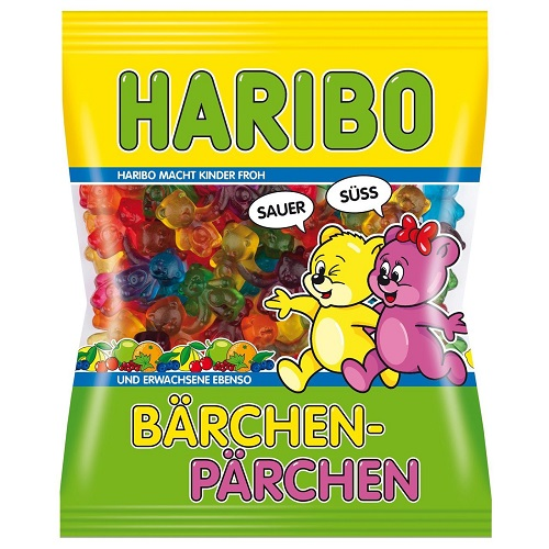 Haribo Germany Baerchen Paerchen (sweet & sour) (OUT OF STOCK)