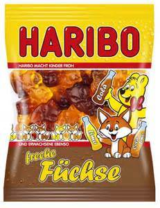 Haribo Germany Freche Fuechse Cola (Naughty Foxes)(OUT OF STOCK)