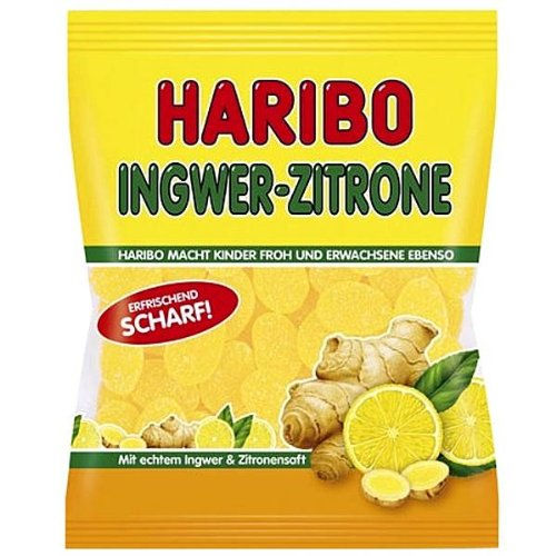 Haribo Germany Ginger Lemon