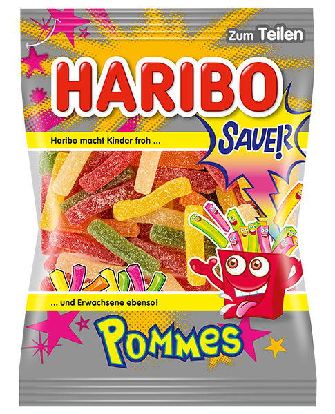 Haribo Germany Sour Fries (Sauer Pommes)