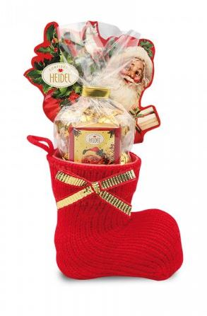 Heidel Nostalgia Chocolate Christmas Stocking