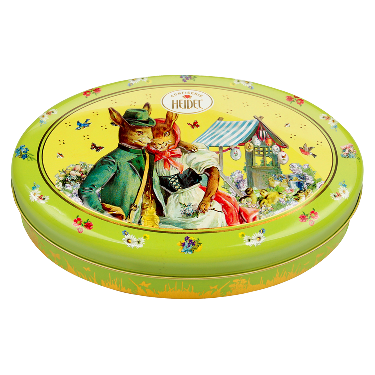 *Heidel Nostalgia Easter Tin Oval - Asst chocolates (1 LEFT)