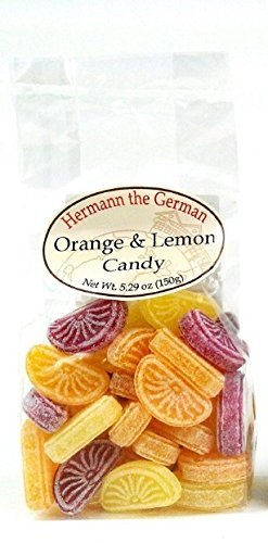 Hermann The German Orange & Lemon Candy