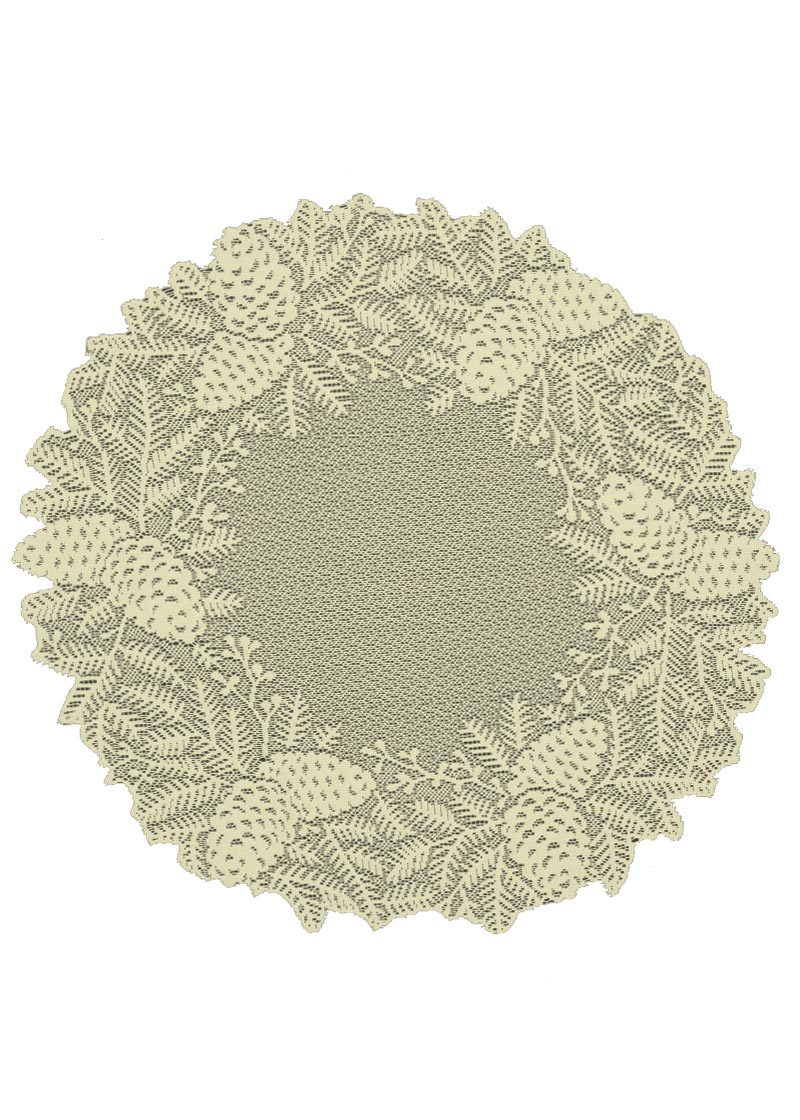 Highland Pine Doily/Charger (6 pack) -2 colors