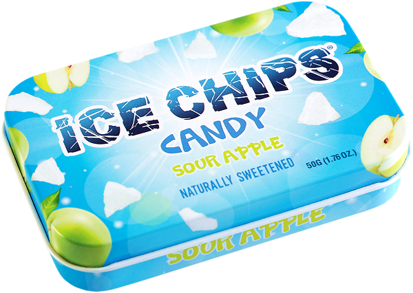 Ice Chips Sour Apple Candy (OUT OF STOCK)