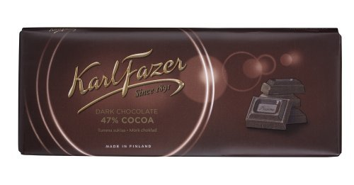 Karl Fazer Dark Chocolate (SELL-BY DATE APRIL 7th)
