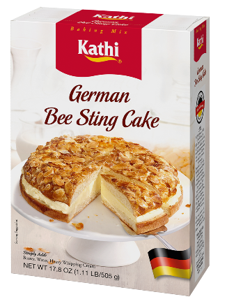Kathi German Bee Sting Cake Baking Mix