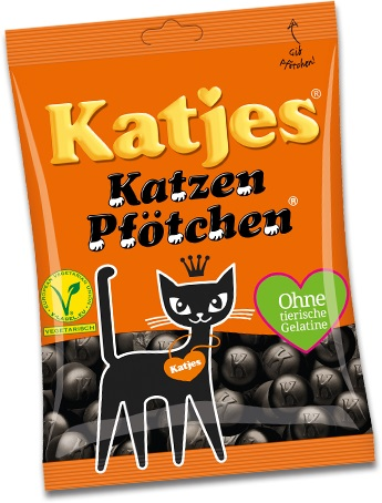 Katjes Germany Cat Feet (Licorice-Vegetarian)