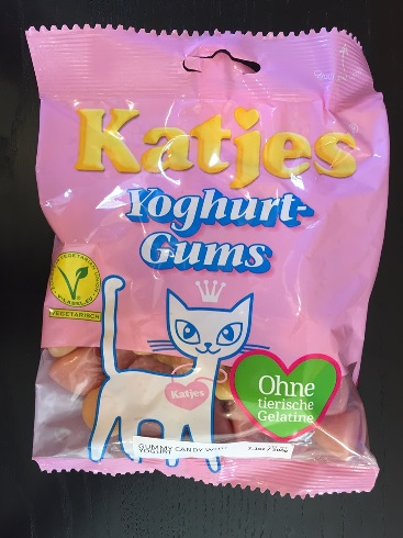 Katjes Yoghurt-Gums (Vegetarian, No Animal Gelatine)
