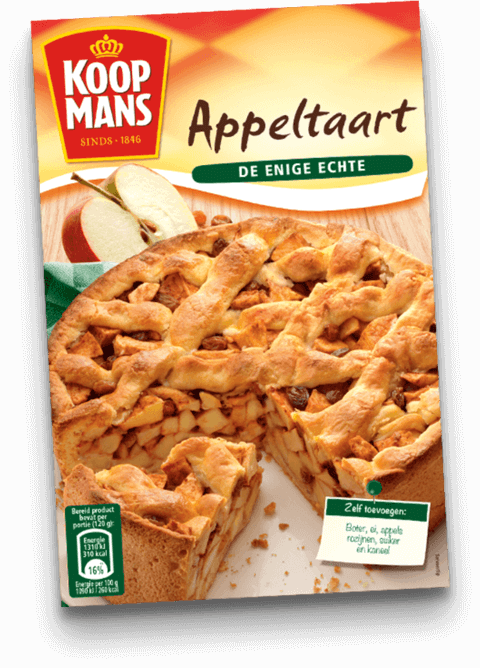 Koopmans Appeltaart (Apple Pie) Mix  (OUT OF STOCK)